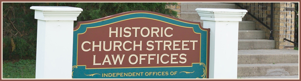 Historic Church Street Law Offices